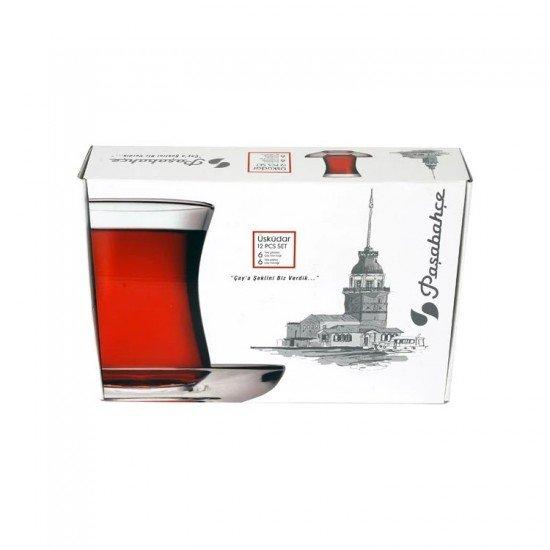 Paşabahçe Üsküdar 12 Parça Çay Takımı