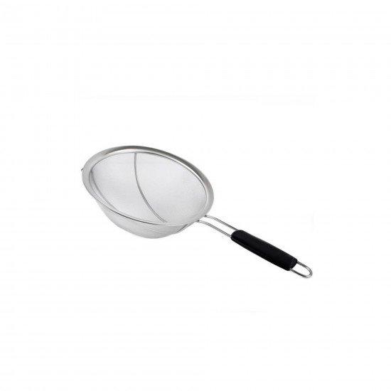 Fame Kitchen Silikon Saplı Çelik Süzgeç 24 cm