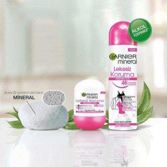 Garnier Mineral Lekesiz Koruma Kadın Roll-On Deodorant