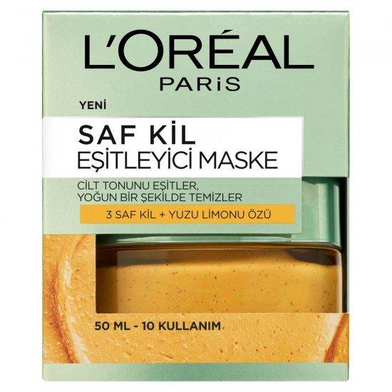 Loreal Paris Saf Kil Eşitleyici Maske 50 Ml