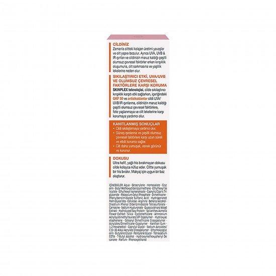 Diadermine Lift +Güneş Koruyucu Losyon GKF 50+ 40 Ml