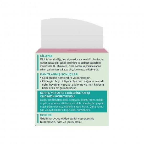 Diadermine Hydralist Smart Detox Koruyucu Gündüz Kremi 50 Ml