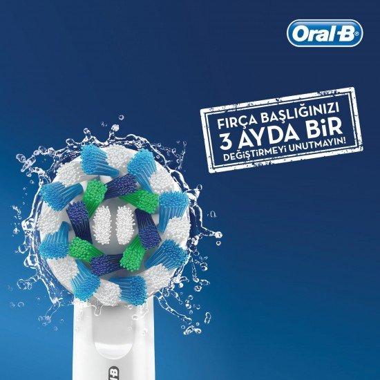 Oral-B Frozen Çocuklar İçin Şarj Edilebilir Diş Fırçası (3+ Yaş)