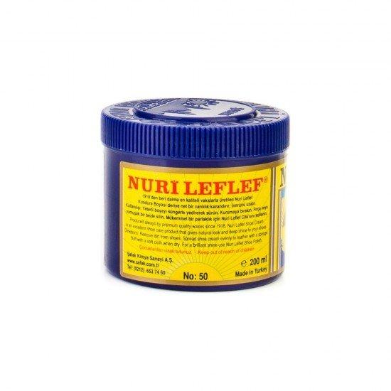 Nuri Leflef Siyah Kundura Ayakkabı Boyası 200 ml