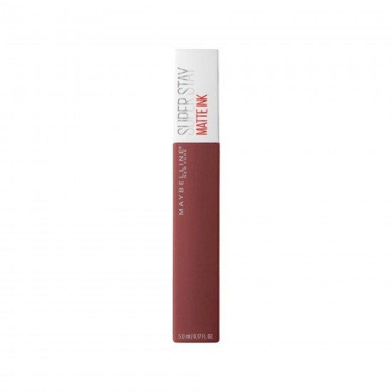Maybelline New York Super Stay Matte Ink Likit Mat Ruj - 160 Mover - Kahverengi