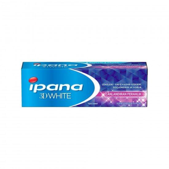 İpana 3 Boyutlu Beyazlık 75 ml Canlandıran Ferahlık Diş Macunu