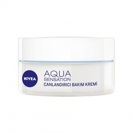 Nivea Aqua Sensation Canlandırıcı Yüz Bakım Kremi 50 ml