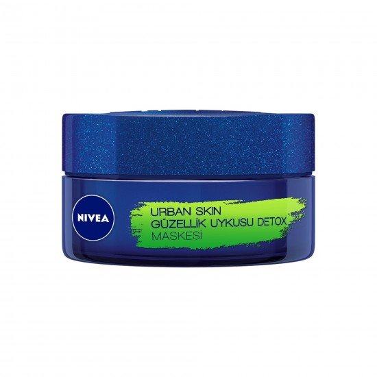 Nivea Urban Skin Detox Güzellik Uykusu Maskesi 50 ml