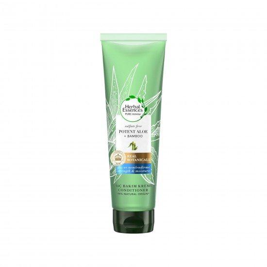 Herbal Essences Sülfatsız 275 Ml Aloe Gücü + Bambu Saç Bakım Kremi