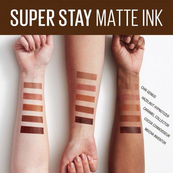 Maybelline New York Super Stay Matte Ink Likit Mat Ruj - 255 Chai Genius