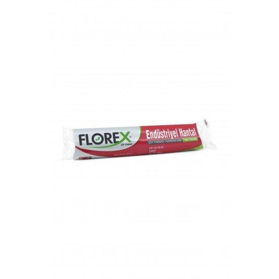 Florex Endüstrriyel Hantal Boy Çöp Poşeti 100x150 Cm 5 Adet 400 Gr 1 Koli 20 Rulo