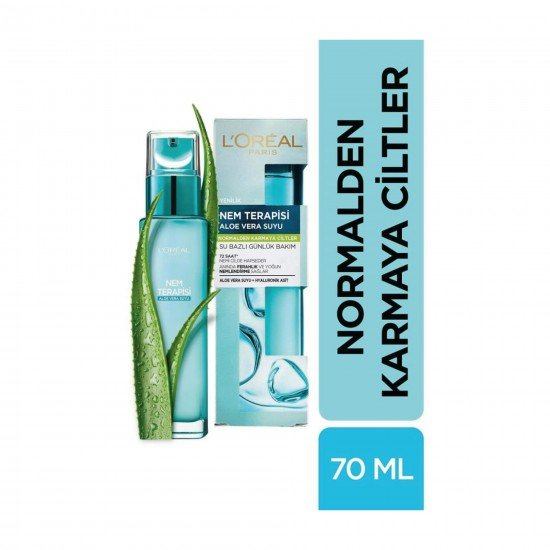 Loreal Paris Nem Terapisi Aloe Vera Suyu Normalden Karmaya Ciltler İçin 70 ML