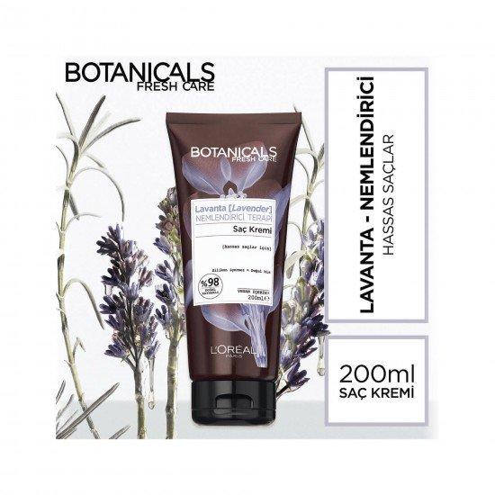 Botanicals Fresh Care Saç Kremi Lavanta Nemlendirici Terapi 200 Ml