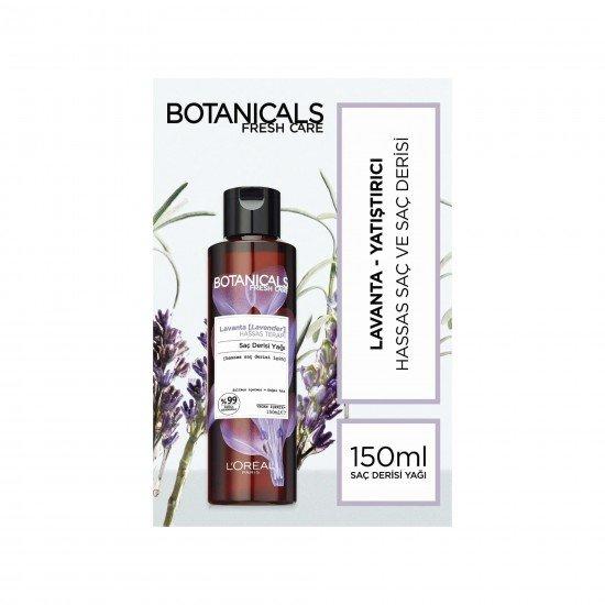 Botanicals Lavanta Özlü Hassas Terapi Saç Derisi Yağı 150 Ml