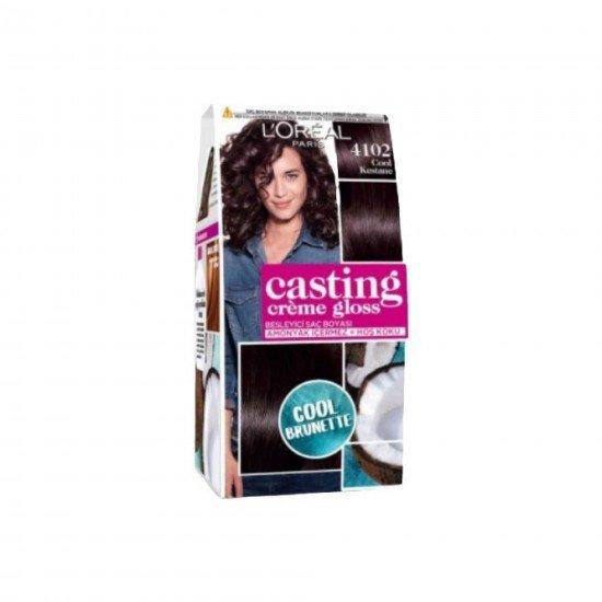 Loreal Paris Casting Creme Gloss Saç Boyası 4102 Cool Kestane