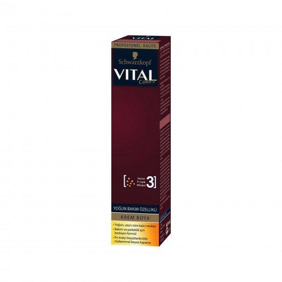 Vital Tüp Boya 7-554 Altın Karamel
