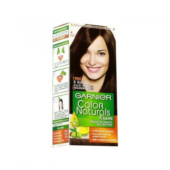 Garnier Color Naturals 4.0 Kahve Saç Boyası