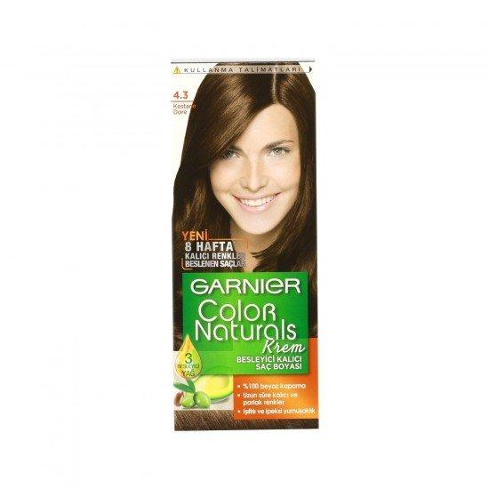 Garnier Color Naturals 4.3 Kestane Dore Saç Boyası