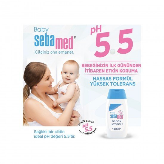 Sebamed Baby pH 5.5 Bebek Losyonu 200 ML