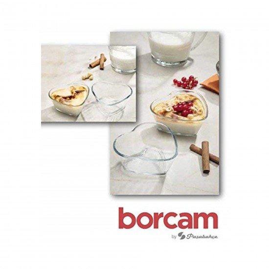 Paşabahçe 59494 Borcam Mini Kek Kalıbı Kalp Desen