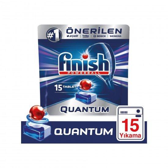 Finish Quantum Bulaşık Makinesi Deterjanı 15 Tablet