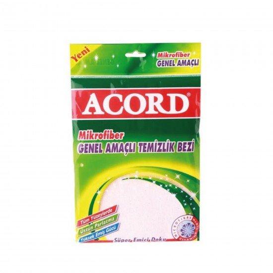 Acord Mikrofiber Genel Amaçlı Temizlik Bezi 30x40 Cm