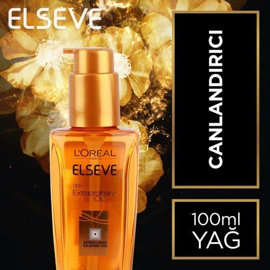 Elseve Extraordinary Oil Normal Saçlar İçin Saç Bakım Yağı 100 Ml