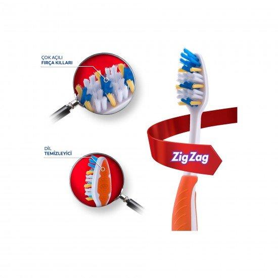 Colgate Zig Zag Diş Fırçası Orta 1+1