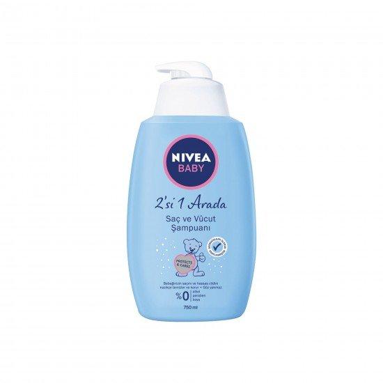 Nivea Baby Saç ve Vücut Şampuanı 750 ML
