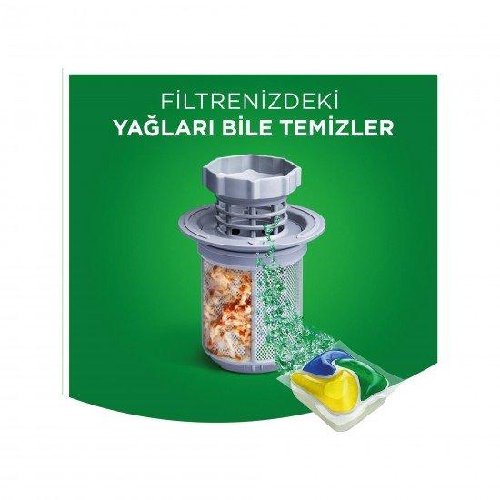Fairy Platinum Bulaşık Makinesi Deterjanı Kapsülü Limon Kokulu 26 Yıkama