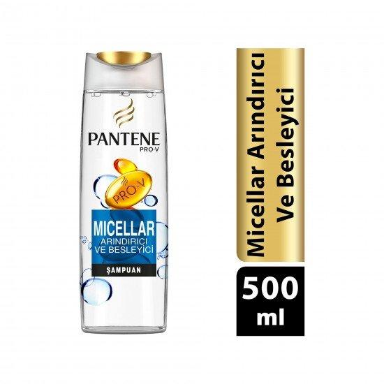 Pantene Micellar Şampuan 500 ml