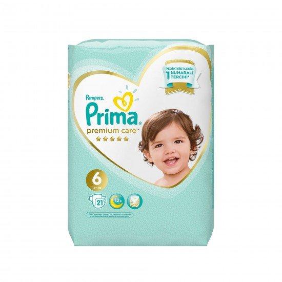 Prima Bebek Bezi Premium Care 6 Beden Ekstra Large 21 Adet