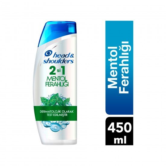 Head & Shoulders Mentol Ferahlığı 2si 1 Arada Şampuan 450 ML