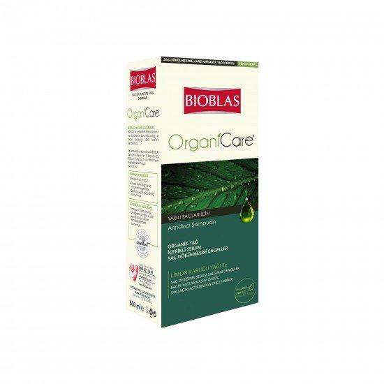 Bioblas Organicare Yağlı Saçlar için Şampuan 600 ML