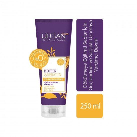 Urban Care Biotin&Keratin İçeren Dökülme Karşıtı & Uzamaya Yardımcı Şampuan 250 ml