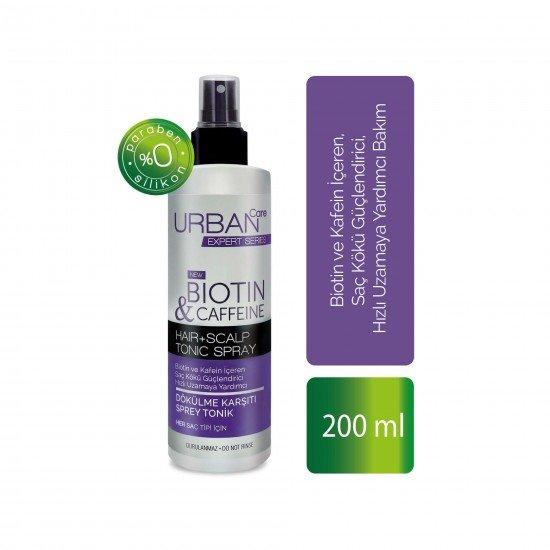 Urban Care Biotin ve Kafein İçeren Saç Kökü Güçlendirici Hızlı Uzamaya Yardımcı Tonik 200 ml