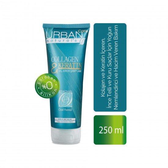Urban Care Kolajen ve Keratin İçeren Yoğun Nemlendirici Şampuan 250 ml