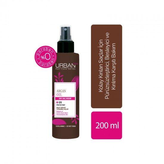 Urban Care Argan Yağı&Keratin İçeren Besleyici&Kırılma Karşıtı Sıvı Saç Kremi 200 ml
