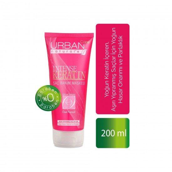 Urban Care Yoğun Keratin İçeren Hasar Onarımı ve Parlaklık veren Saç Bakım Maskesi 200 ml