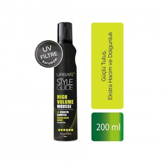 Urban Care Güçlü Tutuş Ekstra Hacim ve Dolgunluk Sağlayan Saç Köpüğü 200 ml