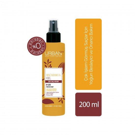 Urban Care Makademya Yağı&Keratin İçeren, Yoğun Nemlendirici & Onarıcı Sıvı Saç Kremi 200 ml