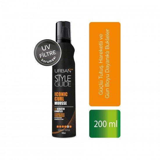 Urban Care Güçlü Tutuş Hareketli Bukleler Sağlayan Saç Köpüğü 200 ml