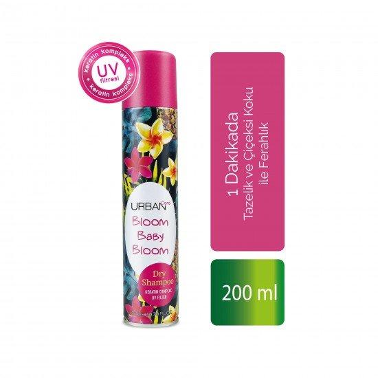 Urban Care Tazelik ve Çiçeksi Koku ile Ferahlık Sağlayan Kuru Şampuan 200 ml