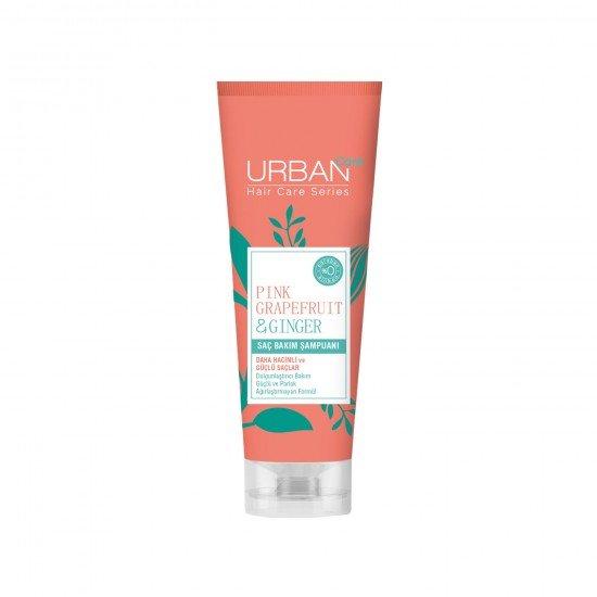 Urban Care Pembe Greyfurt ve Zencefil İçeren Dolgunlaştırıcı Saç Bakım Şampuanı 250 ml