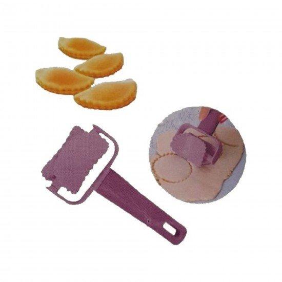 Freecook Tırtıklı Daire Hamur Kesici Rulet
