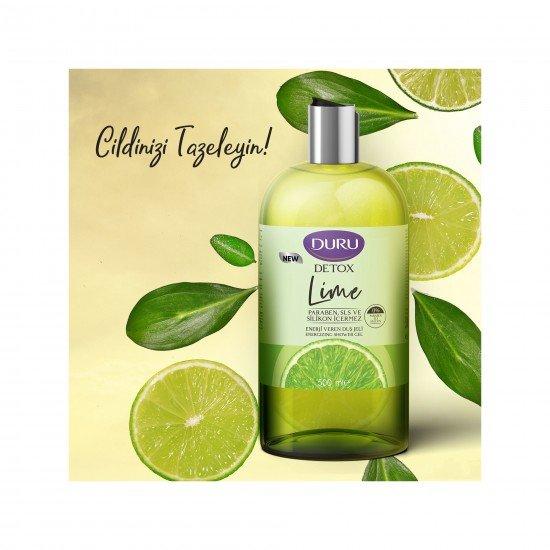 Duru Detox Lime Duş Jeli 500 ML