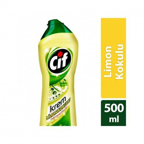 Cif Krem Temizleyici Limonlu 500 ML
