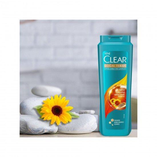 Clear Nem Terapisi Kadınlar İçin Şampuan 600 ML