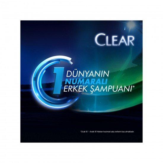 Clear Men Duş Ferahlığı Kepeğe Karşı Etkili Şampuan 600 ML