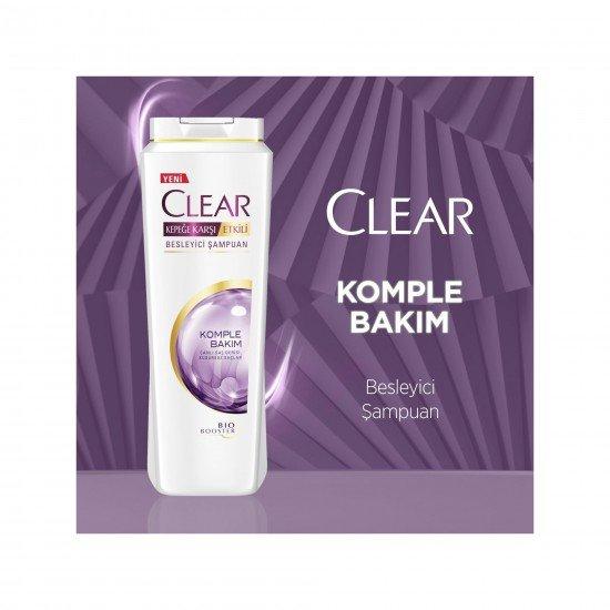 Clear Women Kadınlar İçin Komple Bakım Şampuanı 500 ML